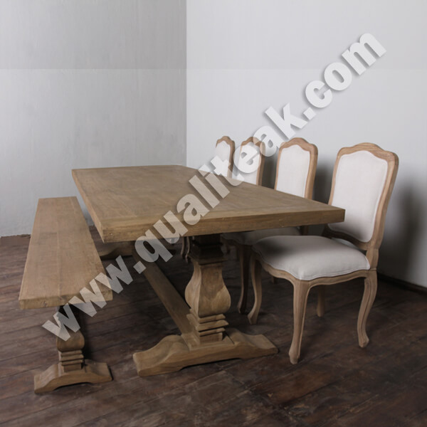Antique French Country Distressed Dining Sets
