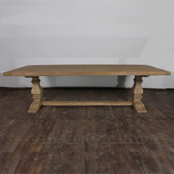 Antique French Country Distressed Dining Table