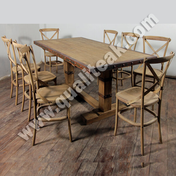 Dining Furniture Sets With Distressed Finish