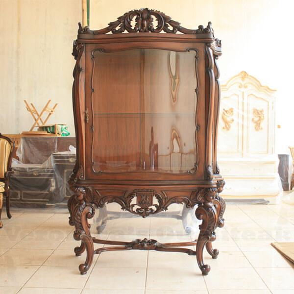 Antique Victorian Custom Display Cabinet