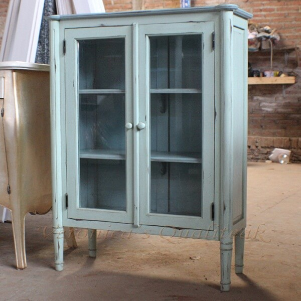 Antique Display Glass Cabinets, Camile Series