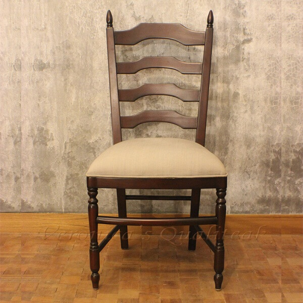 Antique Provencial Mahogany Dining Chairs