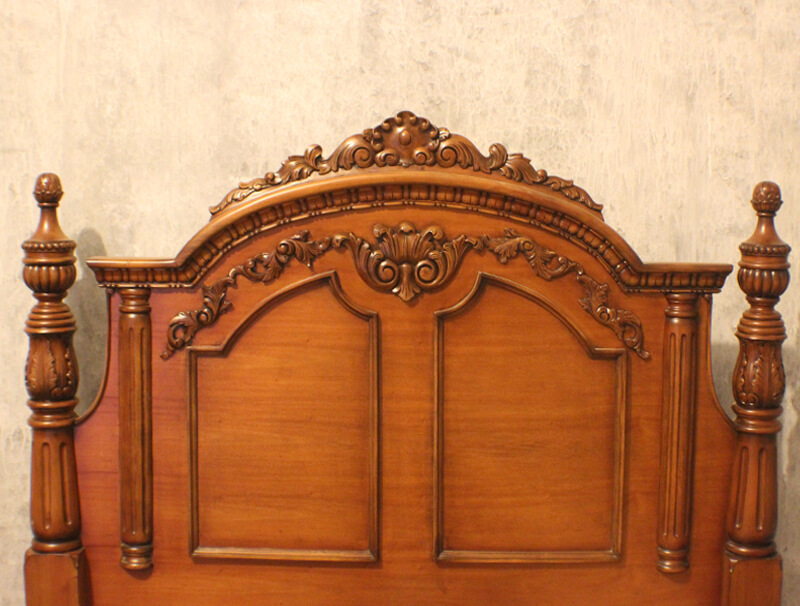 Antique Mahogany Bedroom Sets With Carving By Veronicas