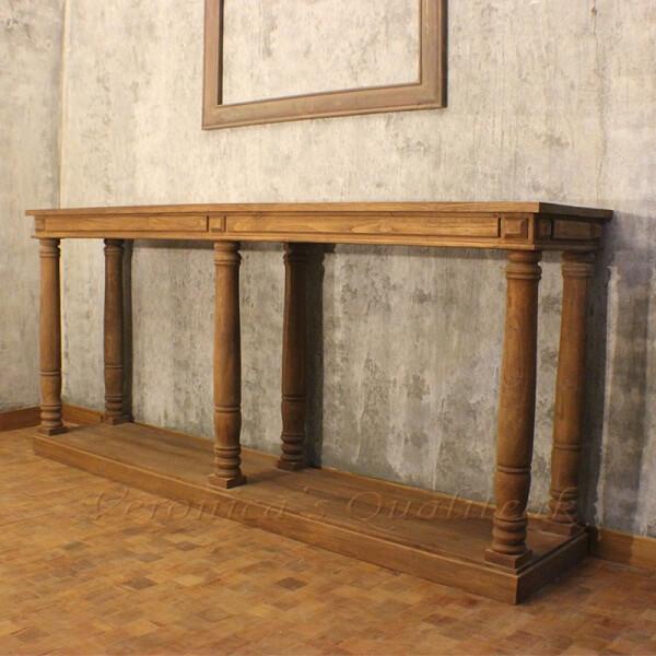 Raphael Classic Pedestal Console Table