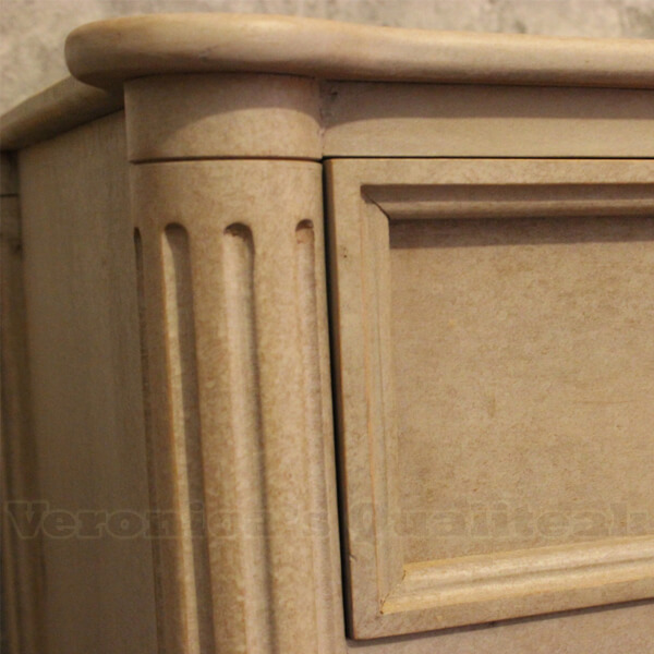 Andy Classic Gustavian Chest Of Drawers Detail