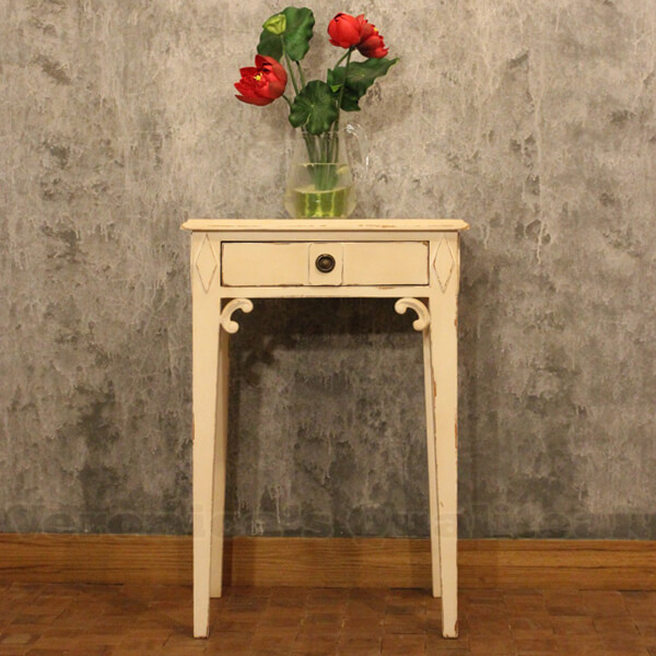 Antique Bedside Table With Swedish Furniture Design