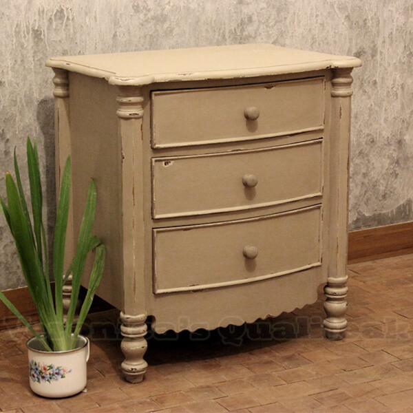 distressed painted furniture adriana bedside