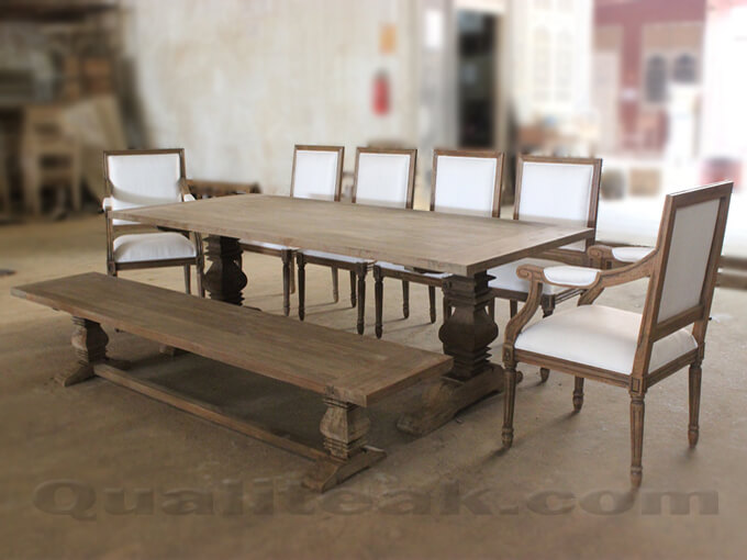 Antique Distressed Dining Sets
