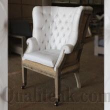 Teak Wood Deconstructed Armchairs