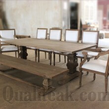 reclaimed teak wood dining sets