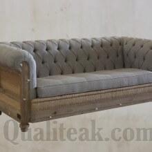Antique Decontructed Sofa From Teak Wood
