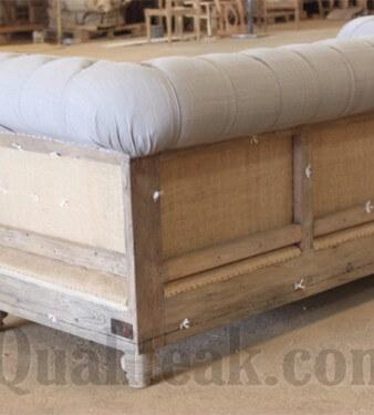 Deconstructed Teak Sofa