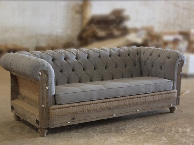 Decostructed Sofa From Teak Wood