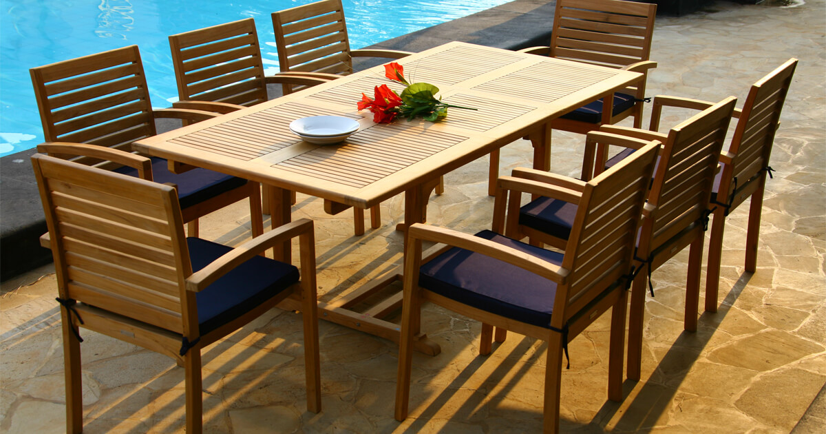 What You Need To Know About Grade A Quality Teak Outdoor Furniture