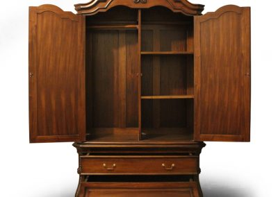 Antique Victorian 2 Door Wardrobe