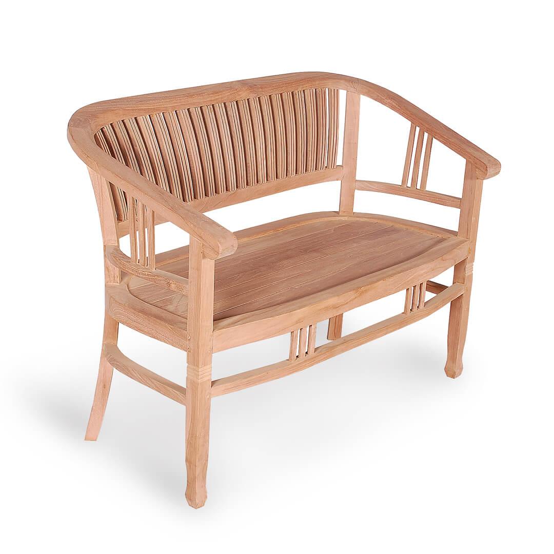 classic teak bench for outdoor
