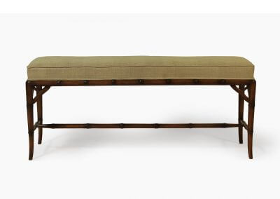 Antique Bamboo Style Bench