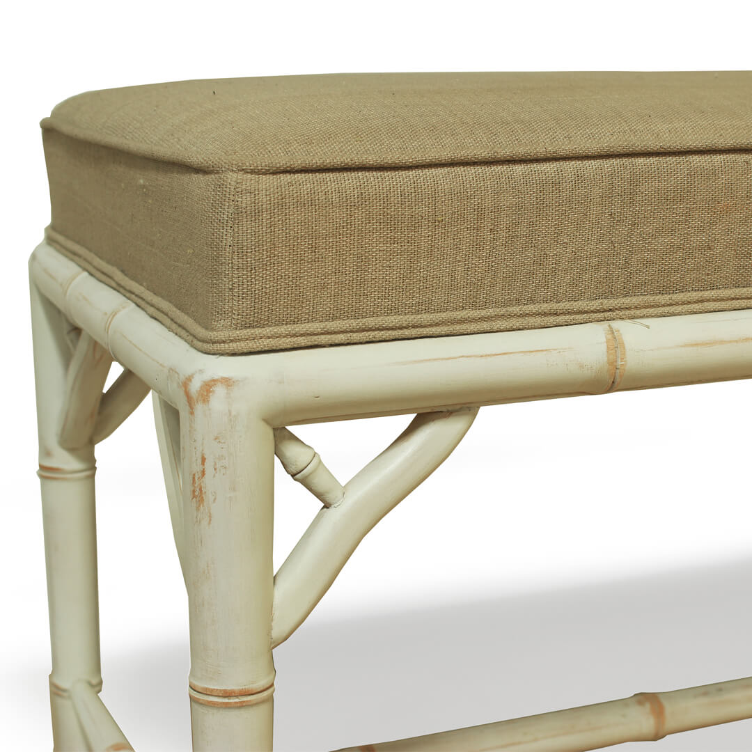 gustavian furniture bench detail