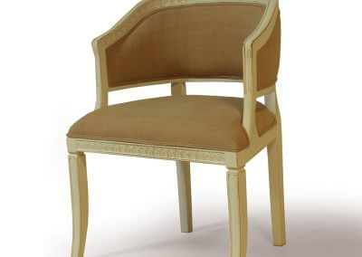 Antique Gustavian Living Room Side Chair