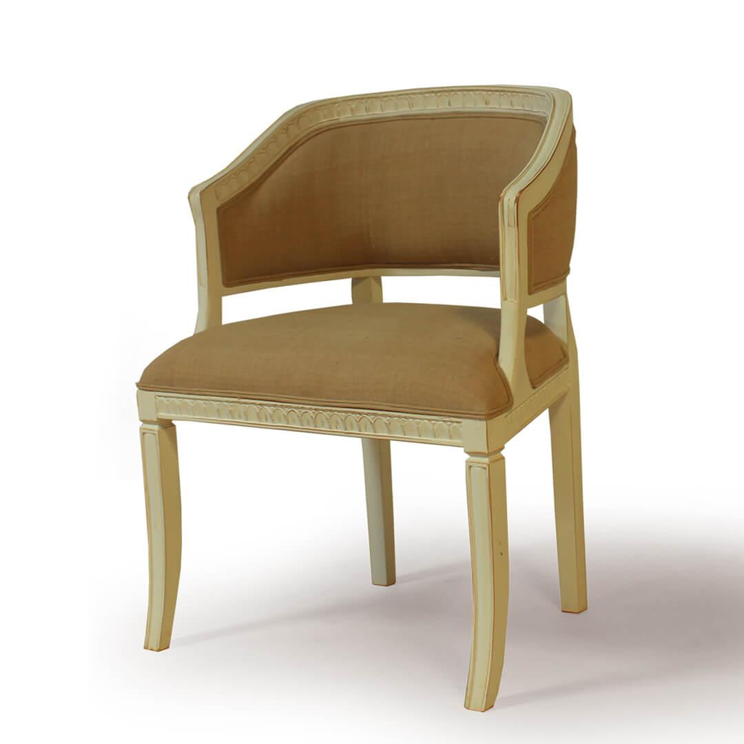 gustavian furniture side chair