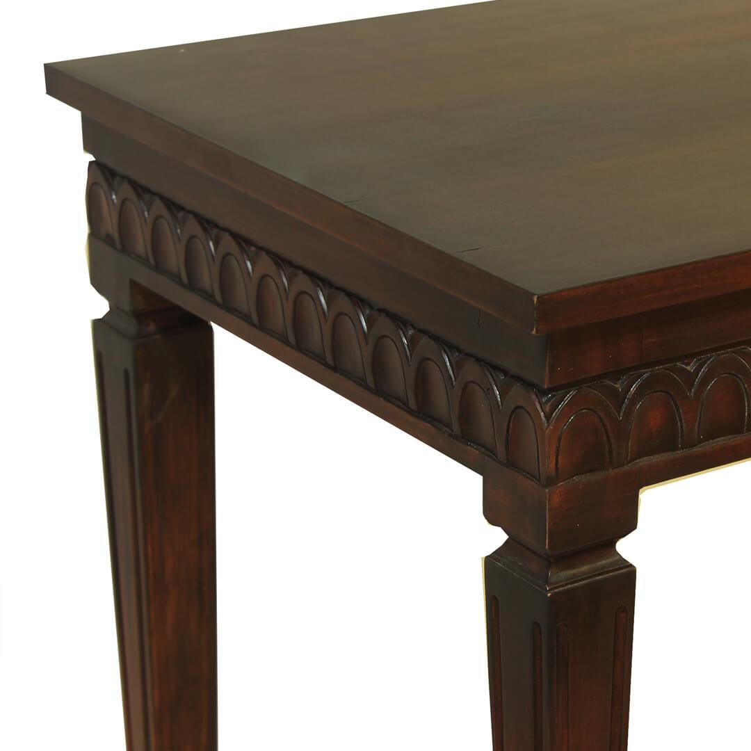 gustavian furniture side table detail