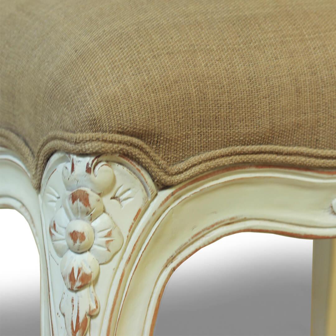 gustavian furniture stool