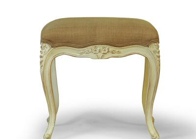 Ornate Carved Foot Stool