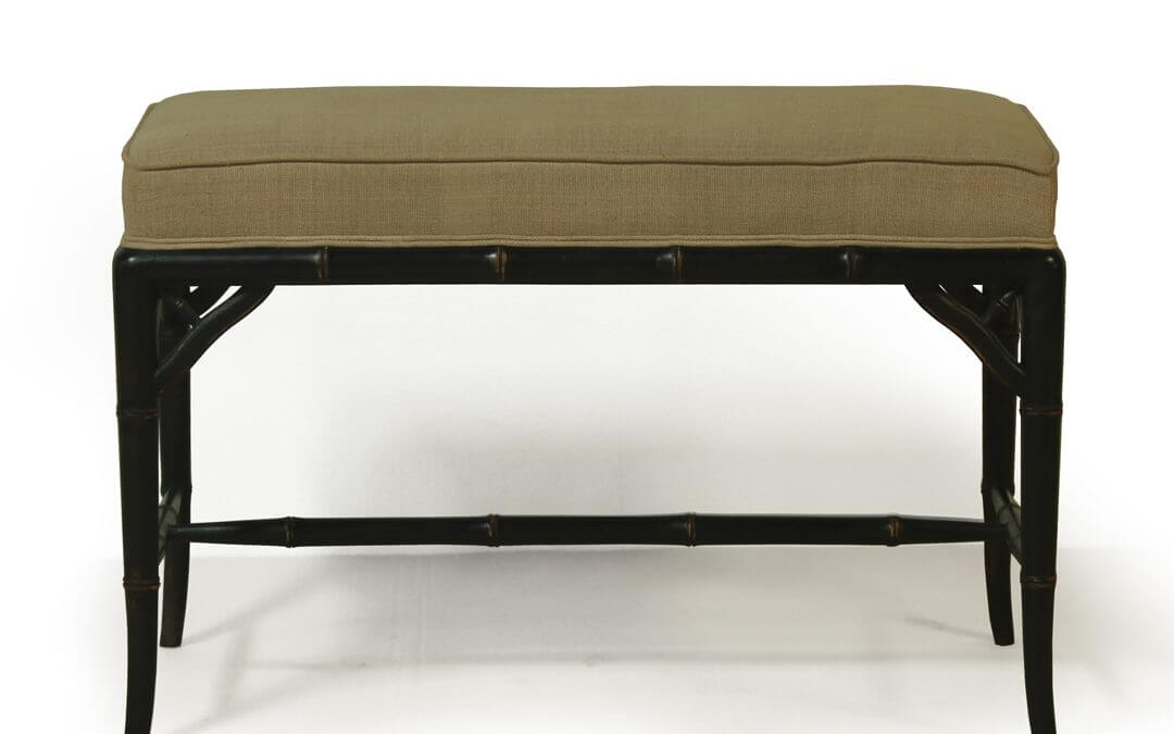 Bamboo Style Medium Size End Bench