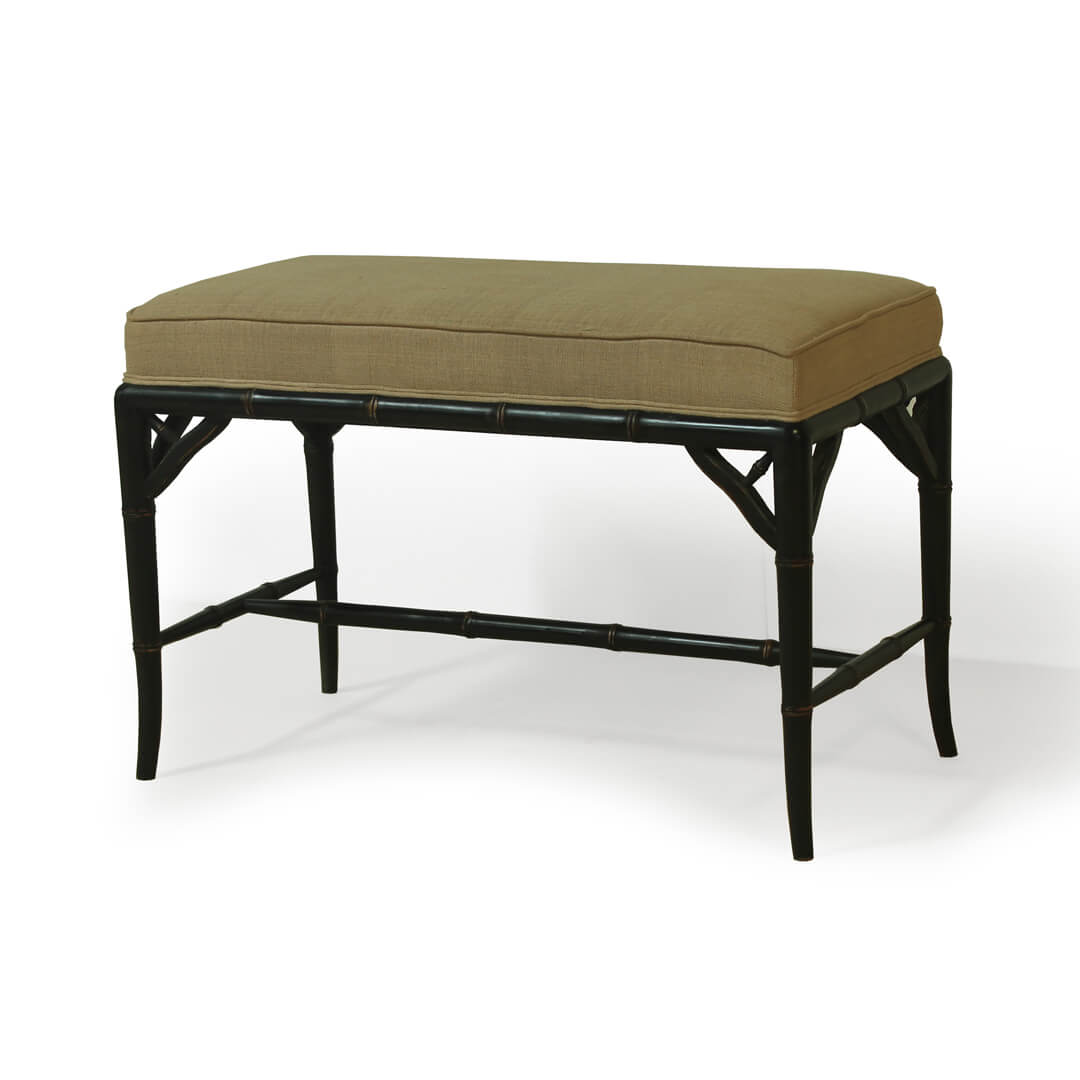 gustavian furniture style small bench
