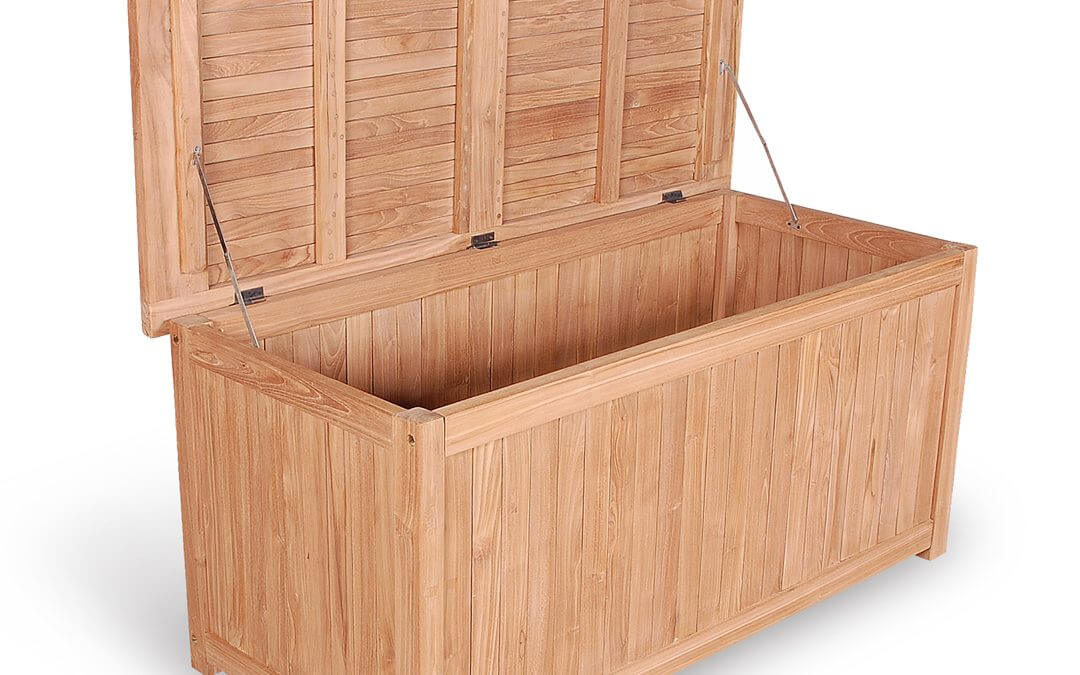 Teak Outdoor Cushion Box