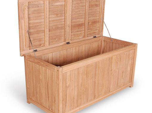 Teak Outdoor Cushion Box