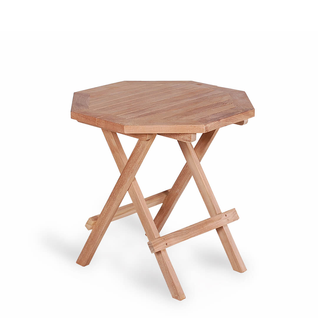 teak outdoor picnic table octagonal