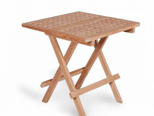 Teak Outdoor Square Picnic Folding Table