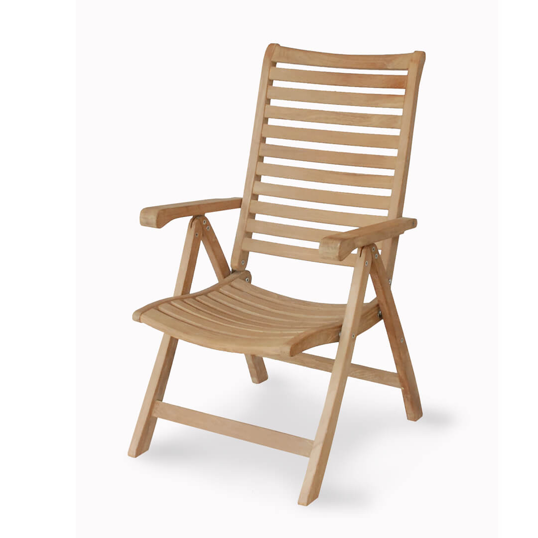 Enjoyable Buy Teak Outdoor 5 Position Reclining Chair From Indonesia Home Interior And Landscaping Ologienasavecom