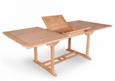 Teak Outdoor Rectangular Extension Table