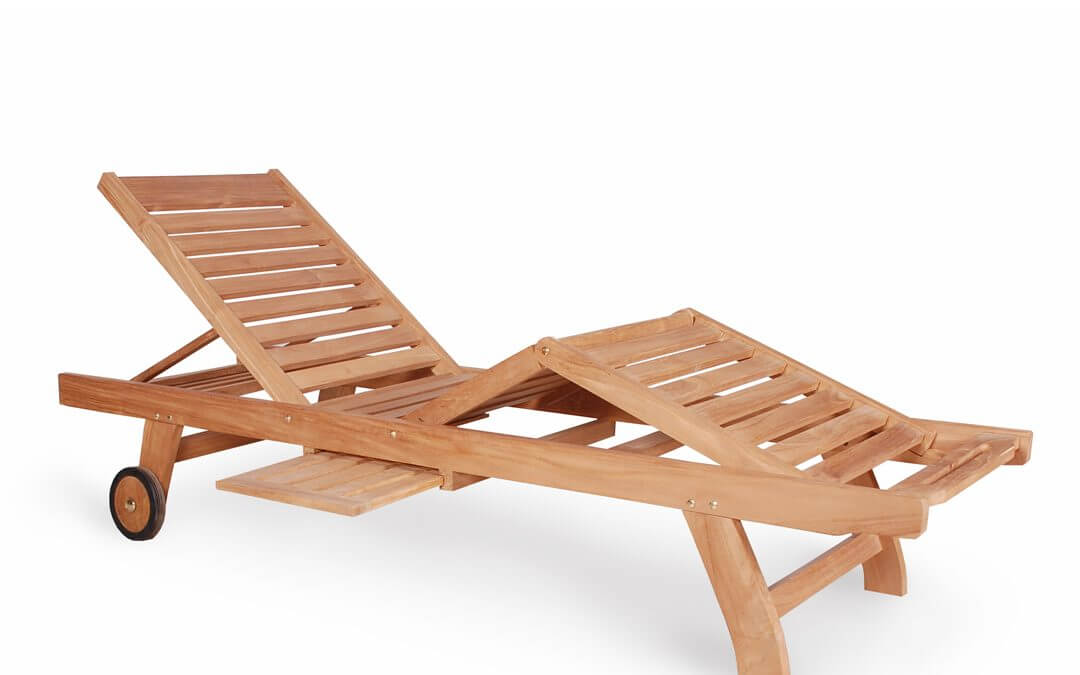 Teak Sun Loungers 2 Step For Outdoors
