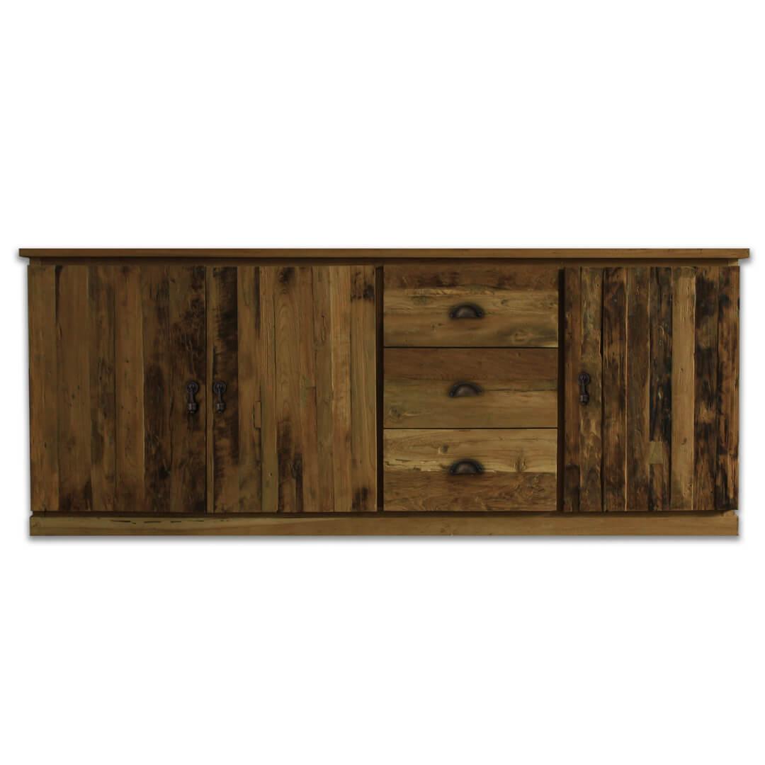 teak reclaimed sideboard