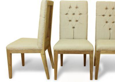 Teak Recycle Wood Dining Chairs