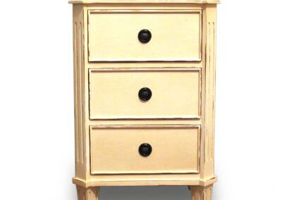 Willma 3 Drawer Bedside