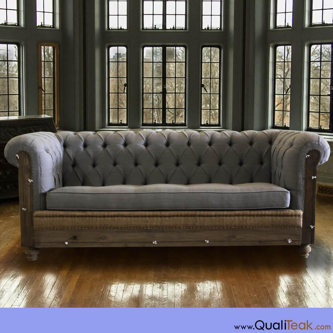 Antique Deconstructed Sofa