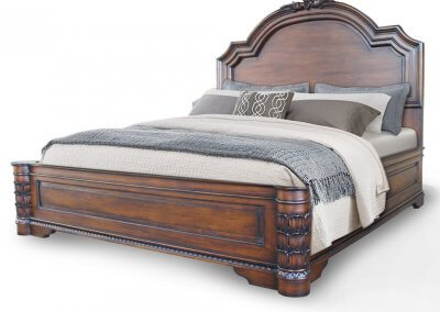 Antique Victorian Carving Bed