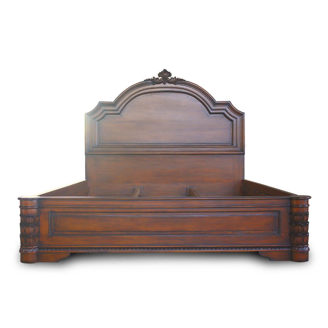 Victorian Carving Bed