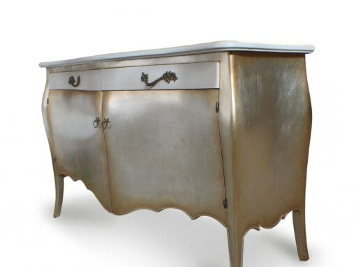 Antique Bombey Sideboard Silver Gilt