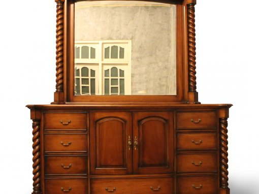 Antique Colonial Dressing Table