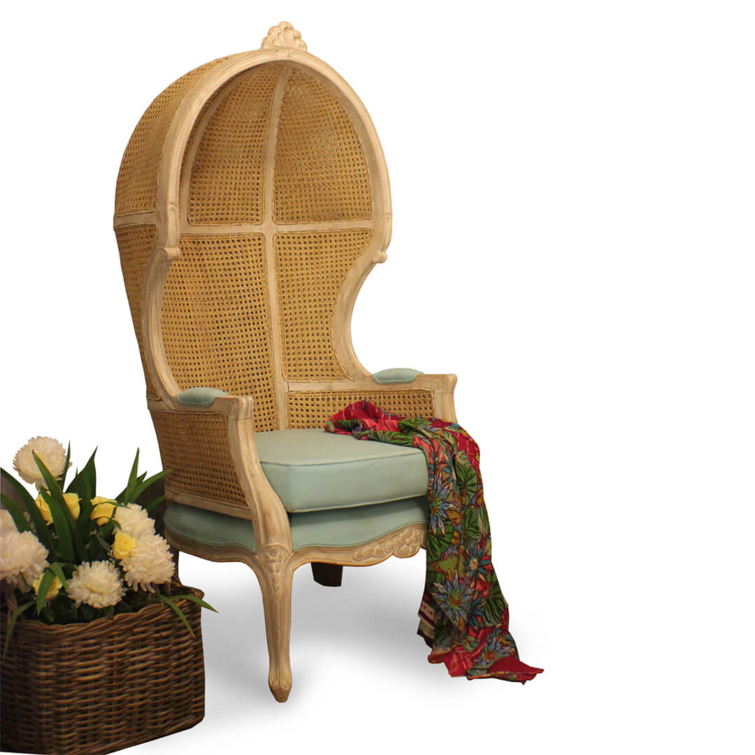 cane woven canopy chairs callie
