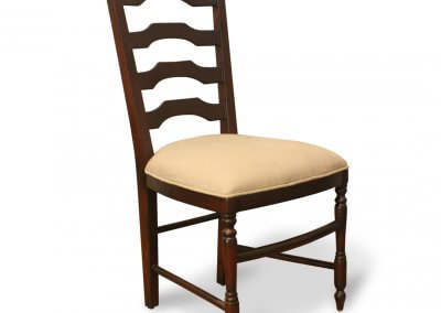 Antique Ladder Back Dining Chair