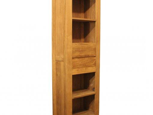 Teak Reclaimed Simple Bookcase