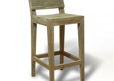 Teak Reclaimed Bar Stools