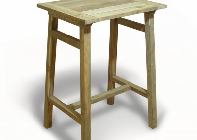 Teak Reclaimed Bar Table