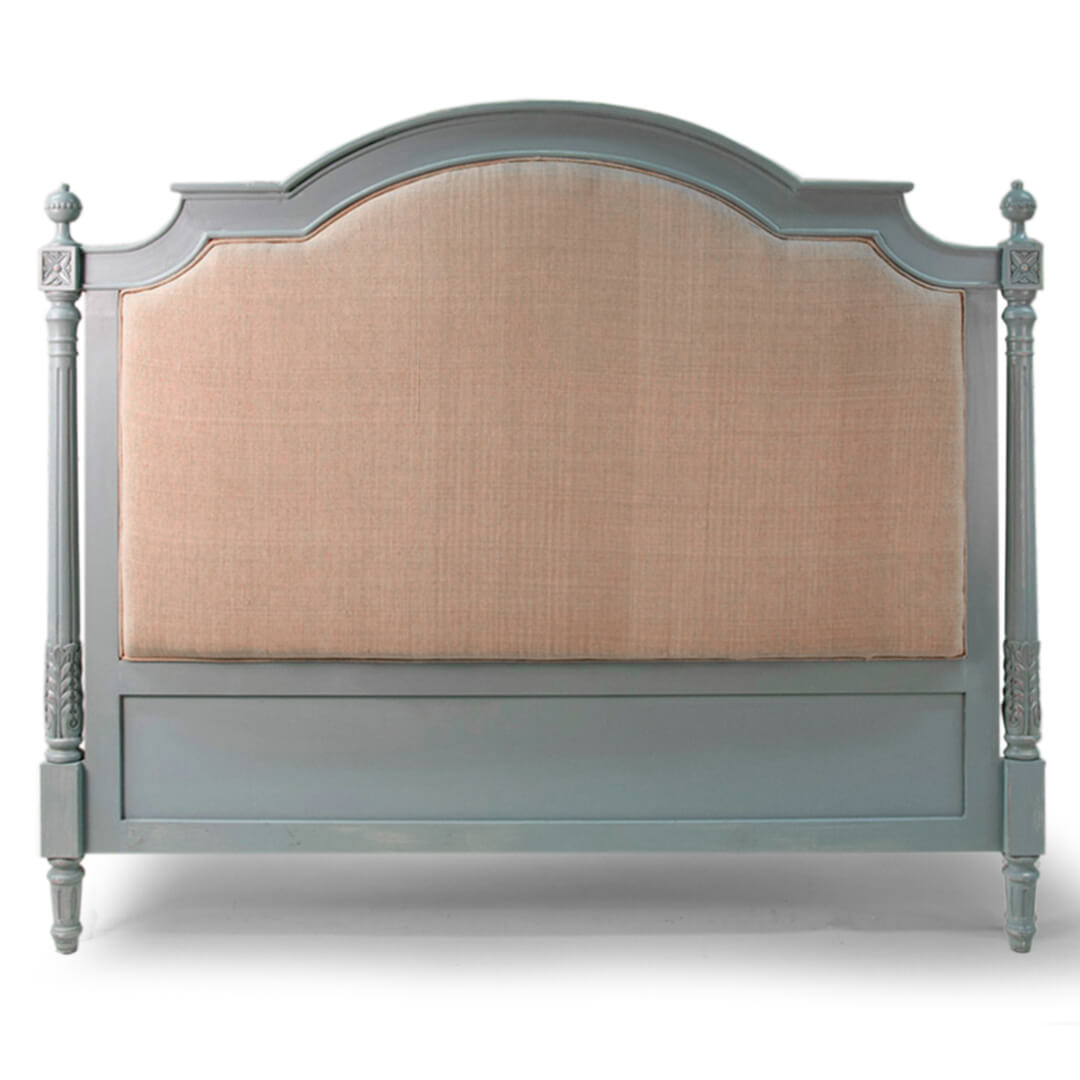Buy Upholstered King Size Headboard Gustavian Style Veronicas Qualiteak
